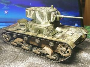 T-26 Model 1933 Zvezda 1:35