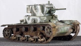 T-26 Model 1933 Zvezda 1:35 by Kendzior