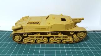 40/43 M 'Zrinyi' II 105 mm | Bronco 1:35 by Kendzior